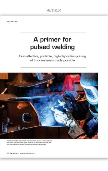 A Primer for Pulsed Welding